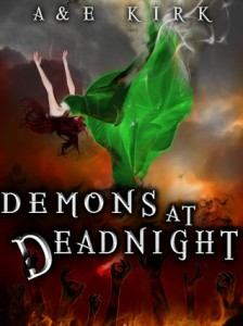 Demons At Deadnight Blog Tour: YA Review + GiveAway (International)
