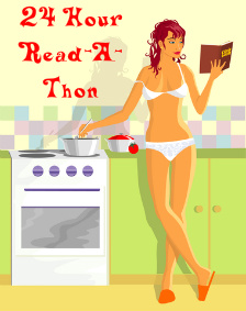 Dewey's 24 Hour #ReadAThon #Reading4Charity Hours 16 to 24