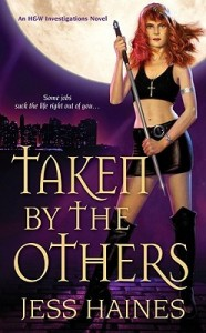 Urban Fantasy Review/H&W Tuesdays: Taken by the Others by Jess Haines (Outstanding)