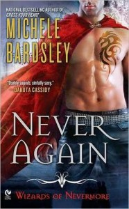 PNR Review: Never Again (Wizards of Nevermore #1) by Michele Bardsley (Outstanding)