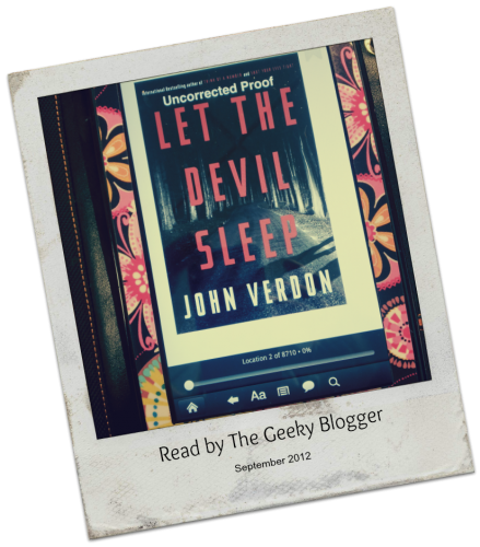 Review: Let the Devil Sleep (Dave Gurney #3) by John Verdon