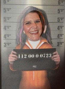 Felicia Mug Shot at BoucherCon 2012