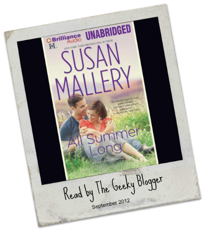 Audiobook Review:  All Summer Long by Susan Mallery