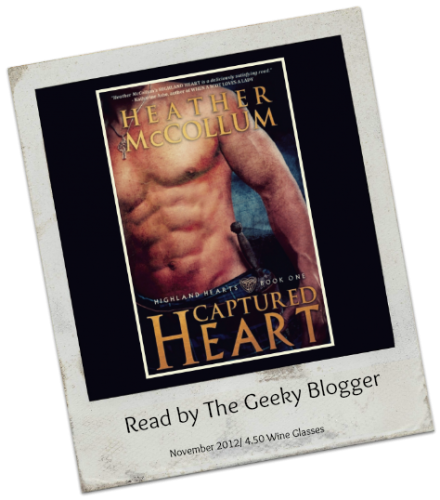 Hot Read November & Review: Captured Heart by Heather McCollum