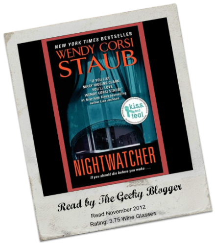 Nightwatcher by Wendy Corsi Staub 439x500 Review: Nightwatcher (Nightwatcher #1) by Wendy Corsi Staub