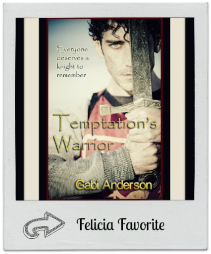 Temptations Warrior by Gabi Anderson 416x500 Month of Thanks #13: Gabi Anderson and Rainy Day Ramblings