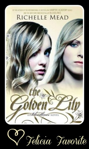 The Golden LIly by Richelle Mead 302x500 Month of Thanks #14: Richelle Mead and Bawdy Books