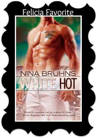 White Hot by Nina Bruhns Month of Thanks #11: Nina Bruhns and Smitten with Reading (Happy Veterans Day)