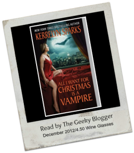 All I Want for Christmas is a Vampire by Kerrelyn Sparks 264x300 Audiobook Review:  All I Want for Christmas is a Vampire (Love at Stake #5) by Kerrelyn Sparks (25 Books for the Holidays)(Book 7)