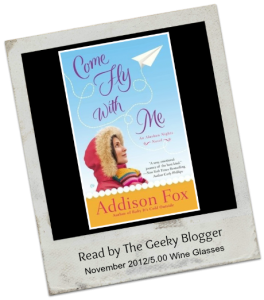 Reviews: Come Fly With Me by Addison Fox (25 Books for the Holidays)