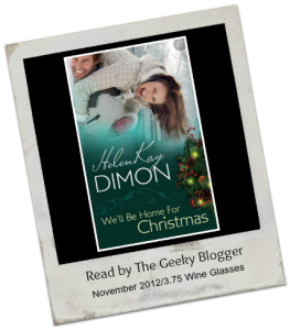 Review:  We'll Be Home for Christmas (Holloway #3) by HelenKay Dimon (25 Books for the Holidays)(Book 5)
