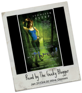 By a Thread by Jennifer Estep 263x300 Audiobook Review: By a Thread by Jennifer Estep