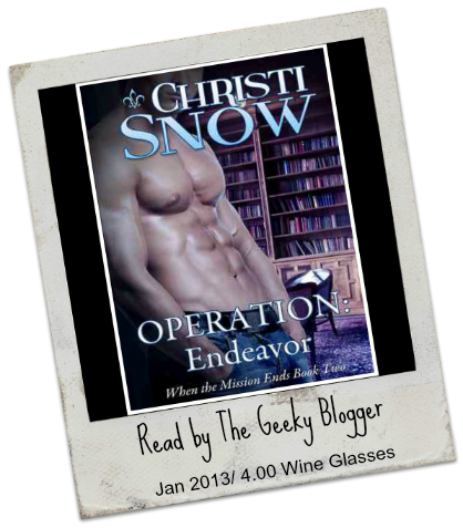 Review: Operation Endeavor (When the Mission Ends #2) by Christi Snow