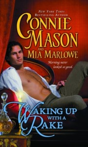 Waking Up with a Rake by Connie Mason 180x300 Balancing the Book Budget: January 2013 Check In