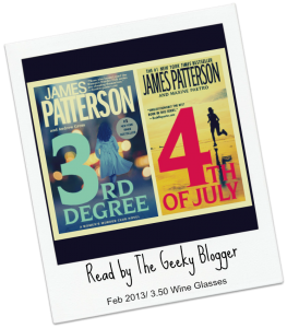 Speed Date Audiobook Series Review: 3rd Degree /4th of July  by James Patterson #seriouslyseries #tbrtipping