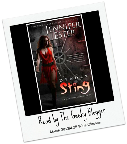 Audiobook Review: Deadly Sting by Jennifer Estep #SeriouslySeries