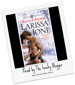 Love Letter Review:  Rogue Rider (Lords of Deliverance, #4) by Larissa Ione #SeriouslySeries #TBRTipping
