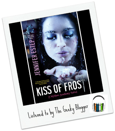 Audiobook Review: Kiss of Frost by Jennifer Estep