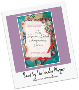 Sponsored  Audiobook Review:  The Avalon Ladies Scrapbooking Society by Darien Gee #SeriouslySeries