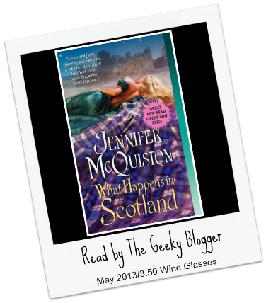 Review: What Happens in Scotland by Jennifer McQuiston