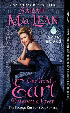 One Good Earl Deserves a Lover by Sarah MacLean Blogger Confession: 10 Non AudioBooks Read & Enjoyed (6/24/13)