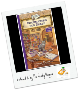 Audiobook Review: Bookmarked For Death by Lorna Barrett/Narrated by Cassandra Campbell