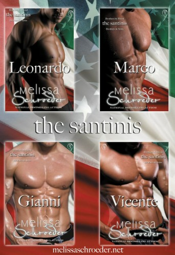 Review: The Santinis by Melissa Schroeder (NonAudiobook Review)