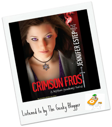 Audiobook Review: Crimson Frost by Jennifer Estep/Narrated By Tara Sands