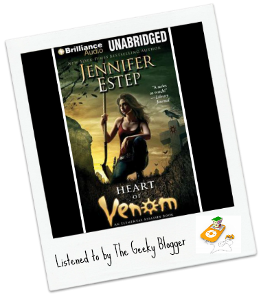 Heart of Venom by Jennifer Estep  Audiobook Review: Heart of Venom by Jennifer Estep