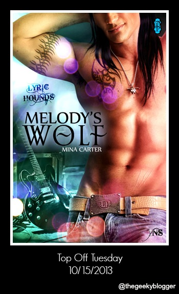 Melodys Wolf by Mina Carter Top Off Tuesday: Melodys Wolf by Mina Carter