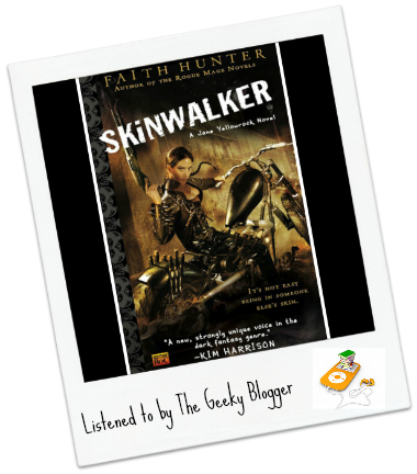Tracking Books Read: SkinWalker by Faith Hunter