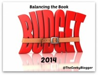 Balancing the Book Budget June 2014