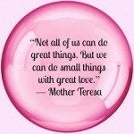 Favorite Quotes Mother Teresa