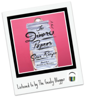 Audiobook Review: The Divorce Papers by Susan Rieger