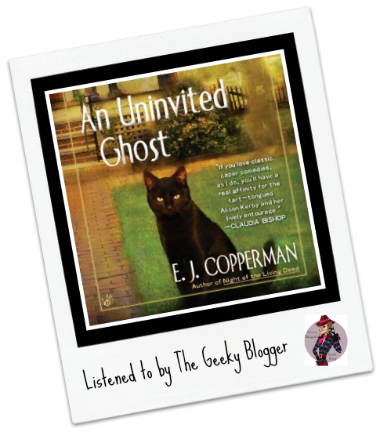 Audiobook Review: An Uninvited Ghost by EJ Cooperman