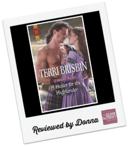 Donna's Review: A Healer for the Highlander by Terri Brisbin