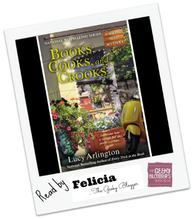 Review: Books, Cooks, and Crooks by Lucy Arlington