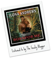 Rate It File It Audiobook Review: Burn for Me by Ilona Andrews