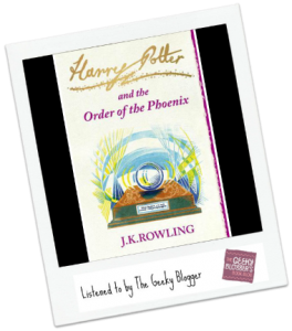 ReRead Review: Harry Potter and the Order of the Phoenix by JK Rowling/Narrated by Stephen Fry
