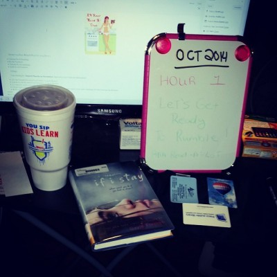 Hour 1 Oct ReadAThon
