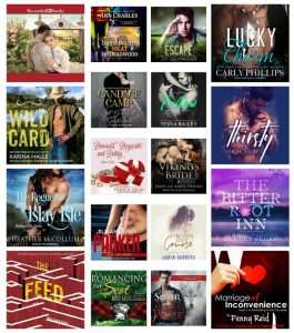 In My Ear: Audiobook Releases March 13 2018 + Romance Package Picks!