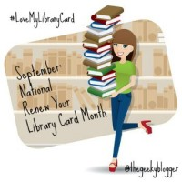 #LoveMyLibraryCard September Event #GiveAway