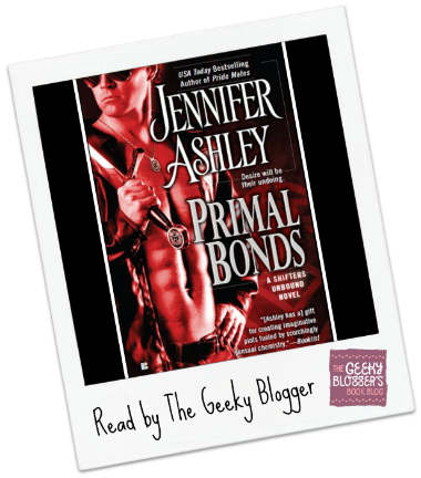 Snagged @ The Library Review:  Primal Bonds by Jennifer Ashley
