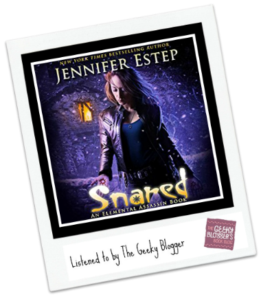 Audiobook Review: Snared by Jennifer Estep #LoveAudiobooks