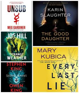 #JIAM Spotlight: Favorite Thrillers/Horror #LoveAudiobooks