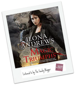 Read It Like It Share It: Magic Triumphs by Ilona Andrews #LoveAudiobooks