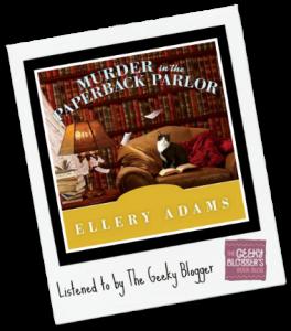 Audiobook Review: Murder in the Paperback Parlor by Ellery Adams
