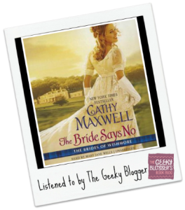 Audiobook Review: The Bride Says No by Cathy Maxwell