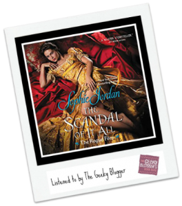 Audiobook Review: The Scandal of It All by Sophie Jordan