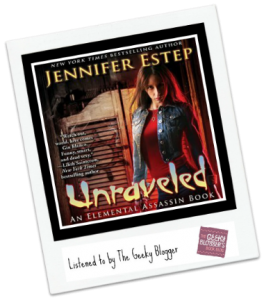 #instareview Unraveled by Jennifer Estep /Narrated by Lauren Fortgang